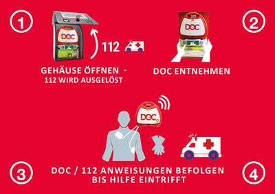 DOC Defibrillator | AED | Almas Industries